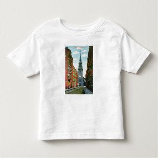 Salem Street View of Old North Church Bldg # 2 Toddler T-shirt