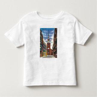 Salem Street View of Old North Church Bldg Toddler T-shirt