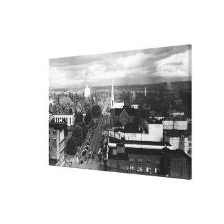 Salem, U opinión de la ciudad de la fotografía del Lona Estirada Galerias