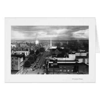 Salem, U opinión de la ciudad de la fotografía del Tarjeta De Felicitación