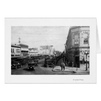Salem, U opinión de la ciudad sobre la fotografía  Tarjeta De Felicitación