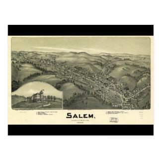 Salem West Virginia (1899) Postcard