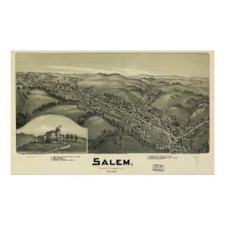 Salem West Virginia (1899) Poster