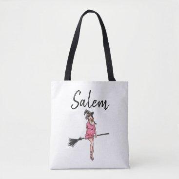 Salem Witch / Halloween Tote Bag