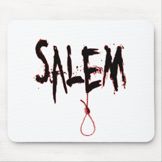 Salem Witch Trial Bloody Noose Mouse Pad