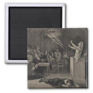 Salem Witch Trial Illustration Magnets