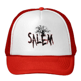 Salem Witch Trial Tree Noose Mesh Hats