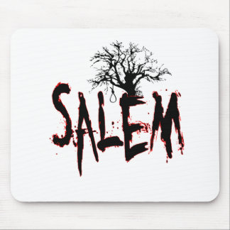 Salem Witch Trial Tree Noose Mouse Pad
