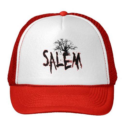 Salem Witch Trial Tree Noose Trucker Hat