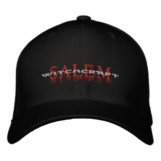 Salem Witchcraft Bloody Magic Embroidered Baseball Caps