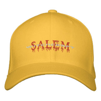 Salem Witchcraft Bloody Magic Embroidered Hat