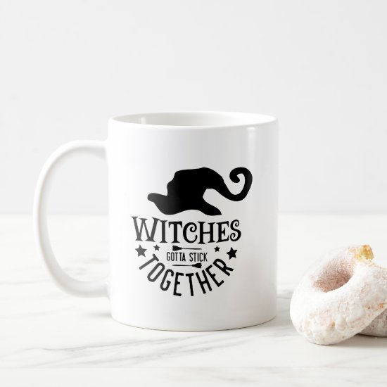 Salem Witches Stick Together Coffee Mug