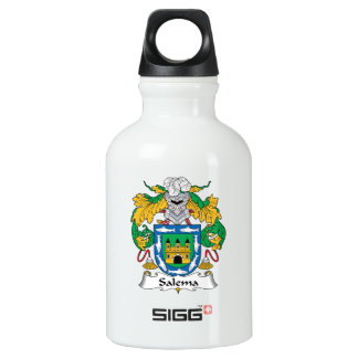 Salema Family Crest Aluminum Water Bottle