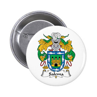 Salema Family Crest Pins