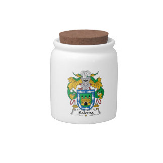 Salema Family Crest Candy Jars