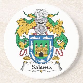 Salema Family Crest Coasters