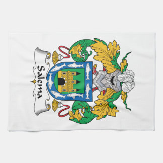 Salema Family Crest Hand Towel
