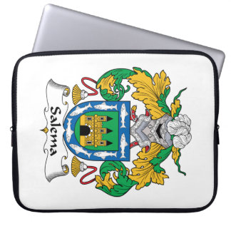 Salema Family Crest Computer Sleeves