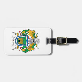 Salema Family Crest Bag Tags