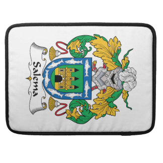 Salema Family Crest Sleeves For MacBook Pro