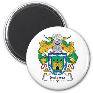 Salema Family Crest Refrigerator Magnets