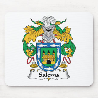 Salema Family Crest Mouse Pad