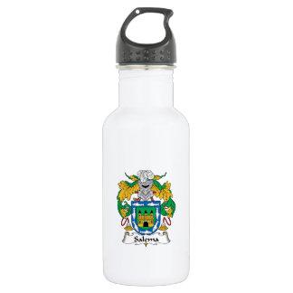 Salema Family Crest 18oz Water Bottle