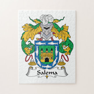 Salema Family Crest Puzzles