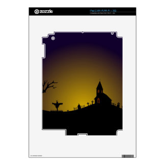 SALEM'S BACKYARD DECAL FOR iPad 2