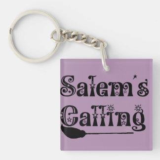 Salem's Calling Single-Sided Square Acrylic Keychain
