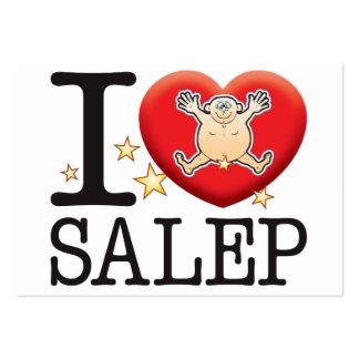 Salep Love Man Large Business Card