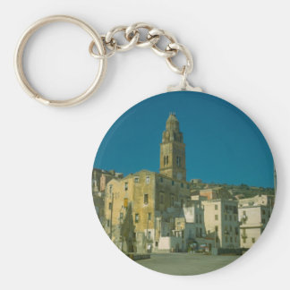 Salerno, Church and town Keychain