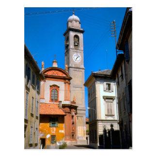 Salerno, iglesia del pueblo postales