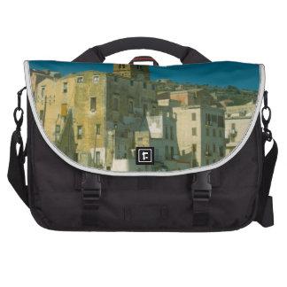 Salerno, iglesia y ciudad bolsa para ordenador