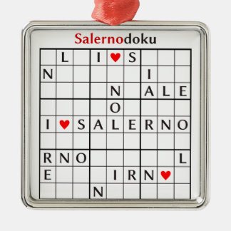 salernodoku metal ornament