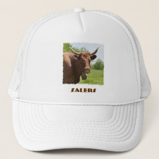Salers cow hat