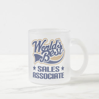 Sales Associate Gift Frosted Glass Coffee Mug