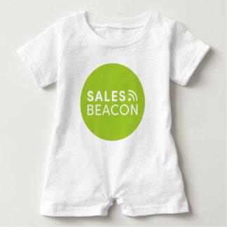 Sales Beacon - Logo - Green Baby Romper