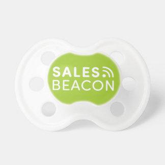 Sales Beacon - Logo - Green Pacifier