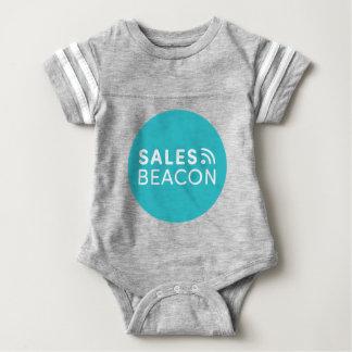 Sales Beacon - Logo - Teal large Baby Bodysuit