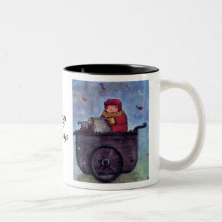 Sales chestnuts Two-Tone coffee mug