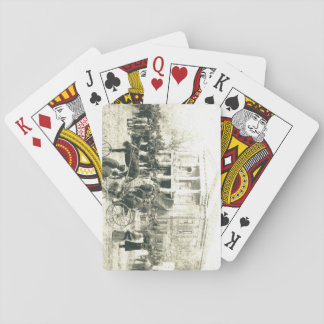 sales day Barnwell, SC Early 1900's Poker Deck