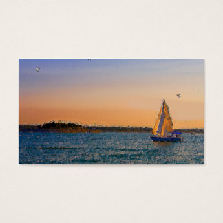 Sales In The Sunset Business Card