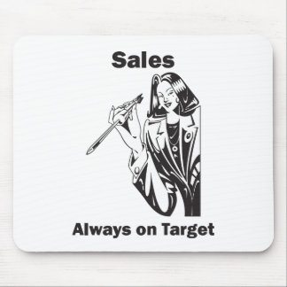 Sales is Always on Target Mouse Pad