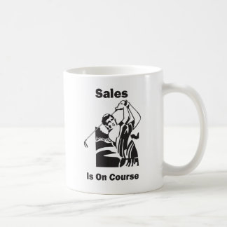 Sales is On Course Coffee Mug