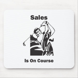 Sales is On Course Mouse Pad