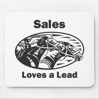 Sales Loves A Lead Mouse Pad