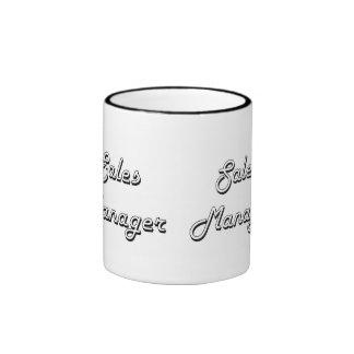Sales Manager Classic Job Design Ringer Coffee Mug