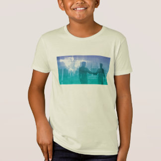 Sales Meeting with Businessmen Shaking Hands T-Shirt