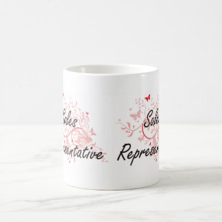 Sales Representative Artistic Job Design with Butt Coffee Mug